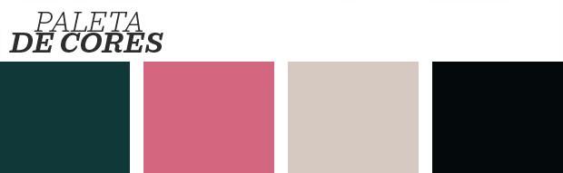 Décor do dia: banheiro vintage com toques de cor (Foto: Reprodução)