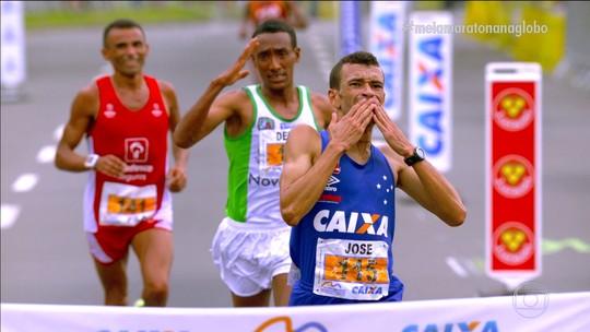 Em chegada sensacional, José Márcio vence a Meia Maratona do Rio no sprint final