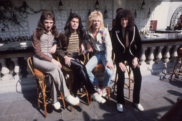 Os membros do Queen (Foto: Getty Images)
