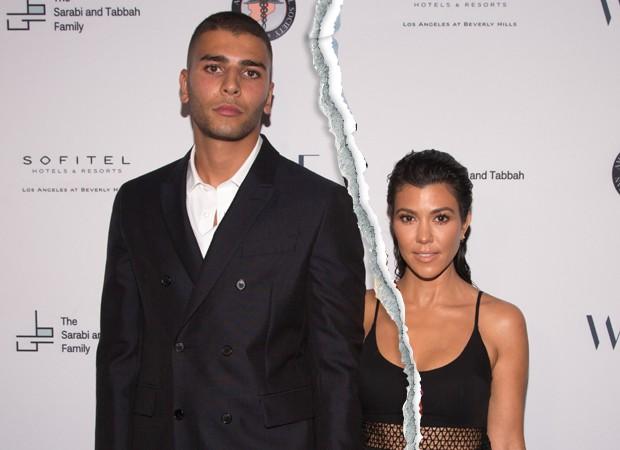 Younes Bendjima e Kourtney Kardashian: fim de romance (Foto: Getty Images)