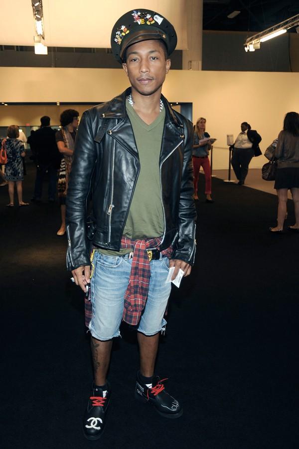 A admiração do rapper pela Chanel já dava as caras nessa época.  (Foto: Getty Images)