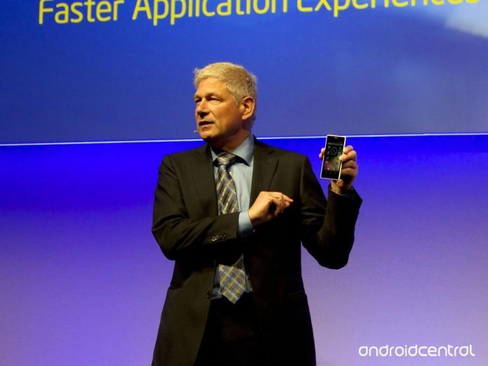 Conferência da Intel MWC 2014  (Foto: Reprodução/Android Central)