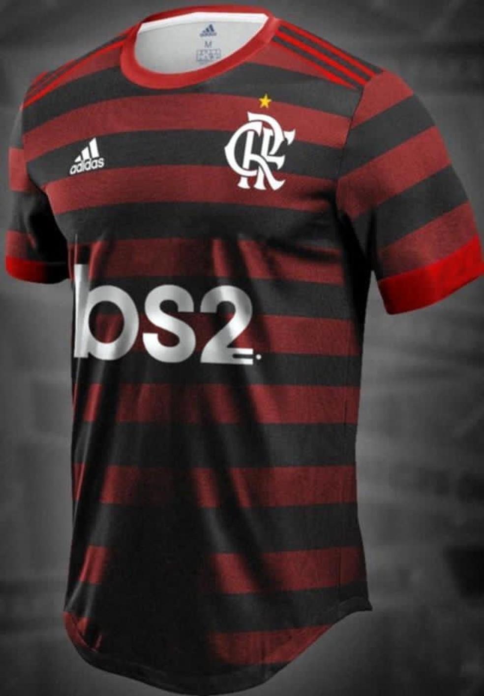 Flamengo camisa BS2 — Foto: Reprodução