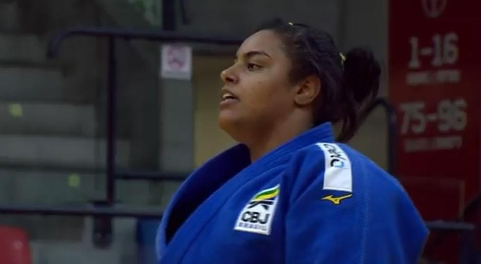 Maria Suelen é bronze em Israel — Foto: Reprodução