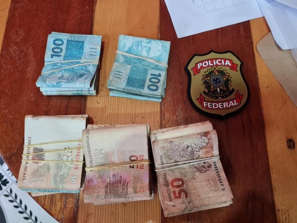 Empresa investigada chegou a movimentar R$ 85 milhões em um ano — Foto: PF/Divulgação