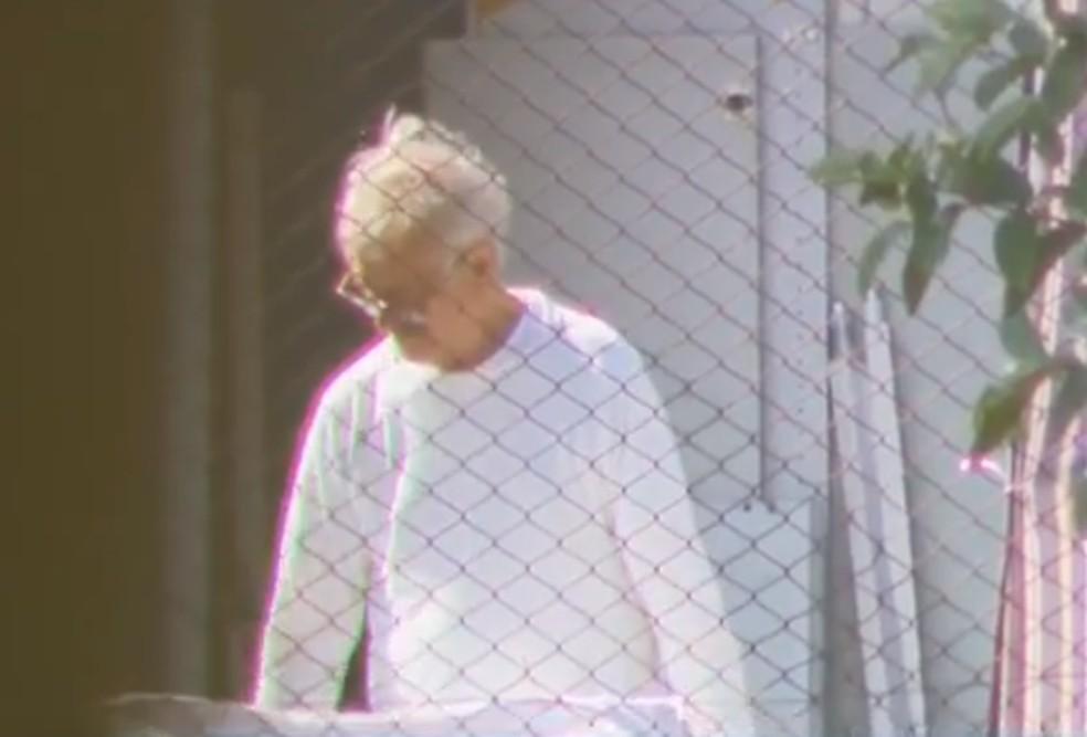 Bibinho voltou a cumprir a prisão preventiva, que estava em vigor desde 2018, no Complexo Médico-Penal (CMP) de Pinhais — Foto: Reprodução/RPC