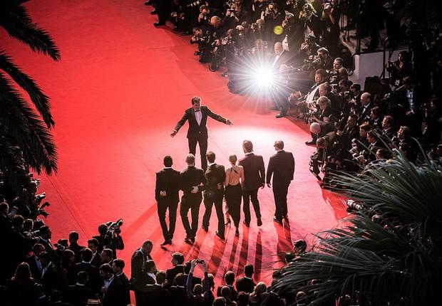 Tapete vermelho do Festival de Cannes (Foto: Francois Durand/Getty Images)