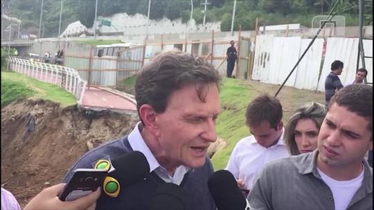 Viagem no carnaval não foi para 'festa do guardanapo', diz Crivella
