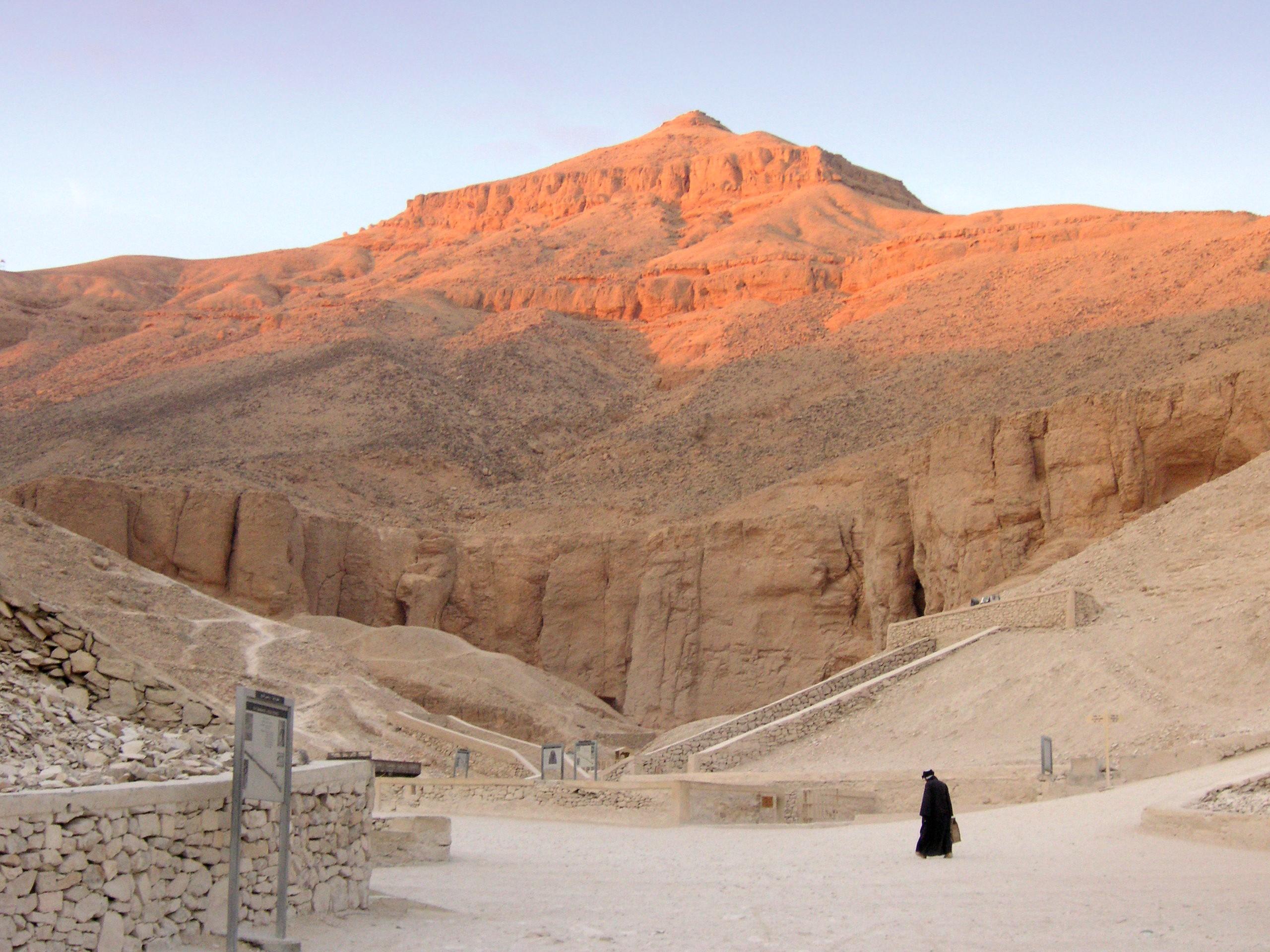Vale dos Reis, no Egito (Foto: Wikimedia/I. Nikater)