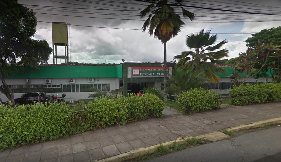 Hospital Municipal Petronila Campos fica em São Lourenço da Mata, no Grande Recife — Foto: Reprodução/Google Street View