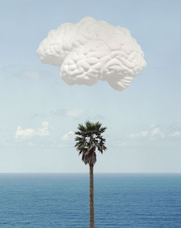 <em>Brain Cloud</em>, 2009, de John Baldessari