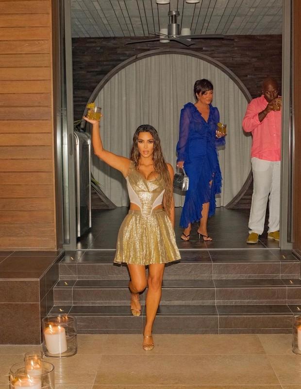 Kim Kardashian comemora seus 40 anos (Foto: Reprodução/Instagram)