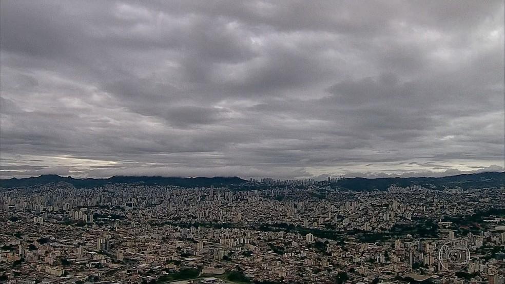 Chuva em BH: aviso será feiro também pela TV a cabo — Foto: Reprodução/TV Globo