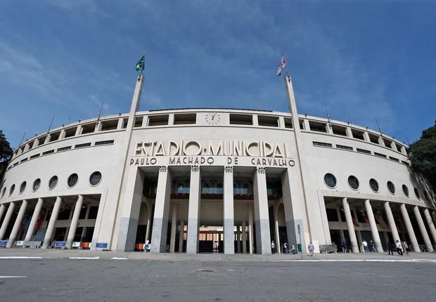 Estádio do Pacaembu, em São Paulo (Foto: Wikimedia Commons/Wikipedia)
