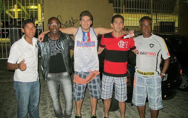 torcida Bahia jogo Botafogo (Foto: Thales Soares)