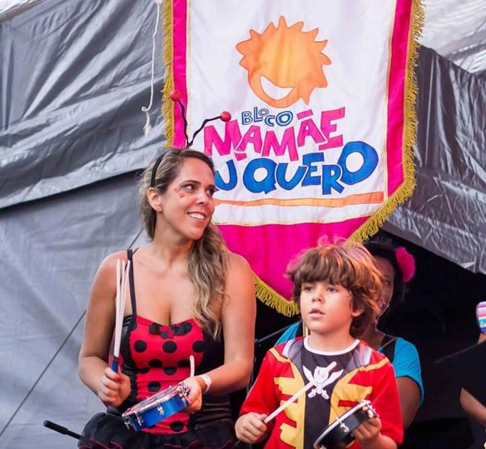 """Helen Henriques, organizadora do bloco """"Mamãe Eu Quero"""", que sai nas ruas de SP — Foto: Divulgação/Bloco Mamãe Eu Quero"""