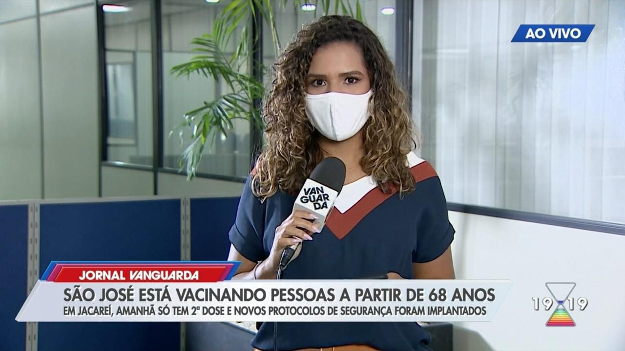 São José dos Campos vacina idosos a partir de 68 anos contra Covid-19