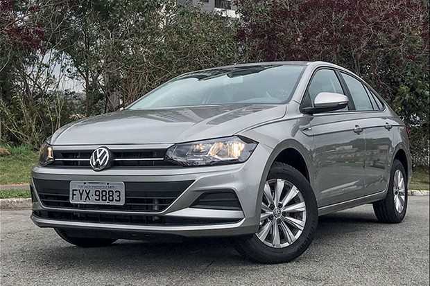 Volkswagen Virtus MSI AT (Foto: divulgação)