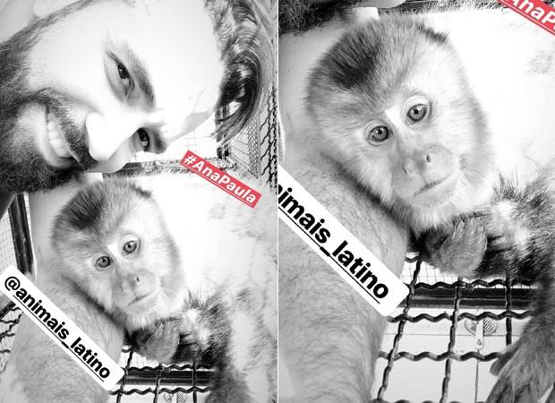 Latino com Ana Paula (Foto: Reprodução/Instagram)