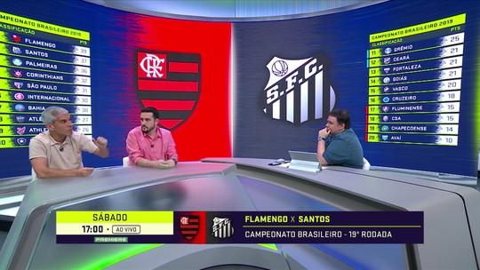 """Comentaristas alertam que ainda não dá para cravar nada no Brasileirão: """"É só a metade"""""""