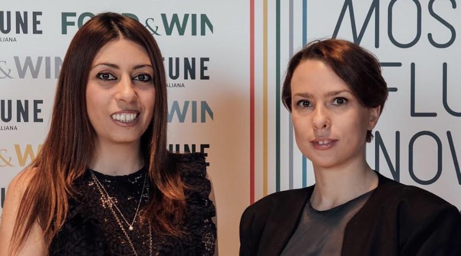 Adriana Santanocito (esquerda) e Enrica Arena, fundadoras da Orange Fiber (Foto: Reprodução/Instagram)