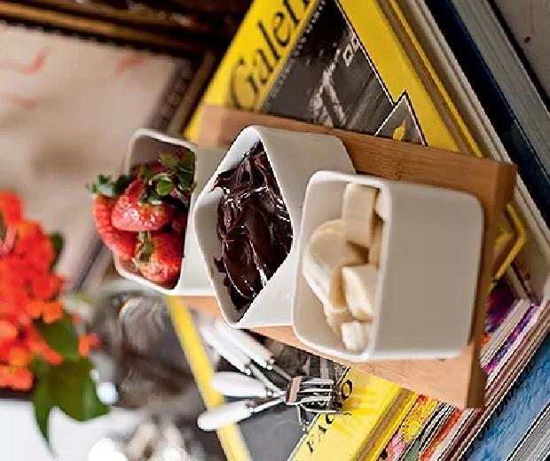 Dip de nutella (Foto: Rogério Voltan/Editora Globo)