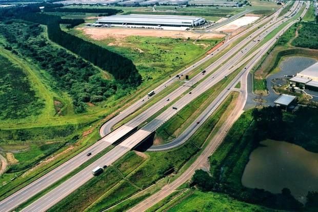 Rodovia SP075 km 67 Trecho Campinas (Foto: Artesp/Divulgação)