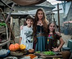 Marina Ruy Barbosa posa com Antônio Guilherme Cabral e Leandra Caetano |  Globo/ Raquel Cunha
