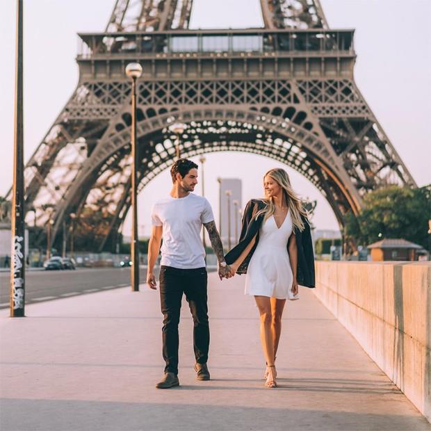 Danielle Knudson e Alexandre Pato (Foto: Reprodução/Instagram)
