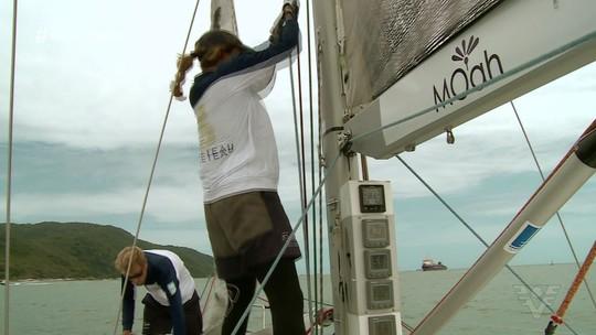 Veleiro santista se prepara para disputa do Circuito Ilhabela de Vela Oceânica
