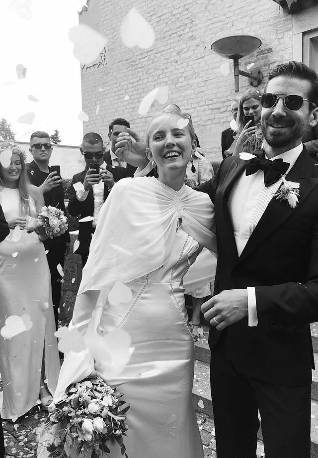Alexandra Carl se casa com Jacob John Harmer em Copenhagen (Foto: Instagram Pernille Teisbaek/ Reprodução)