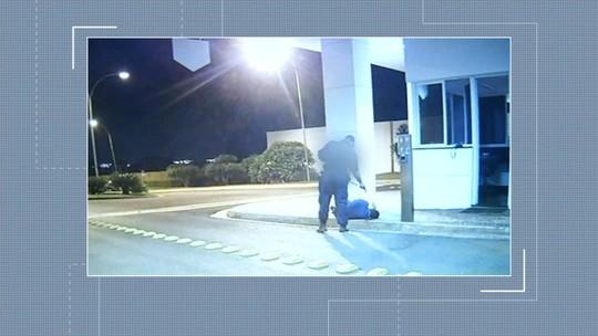 Vigilante acusado de matar porteiro após briga por bola de papel é preso, em Itumbiara
