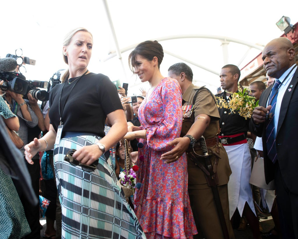 Meghan Markle em Suva, Fiji (Foto: Getty Images)
