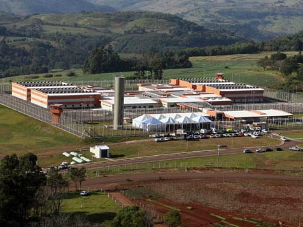 Presídio de Catanduvas, no Paraná (Foto: Isaac Amorim/Ministério da Justiça)