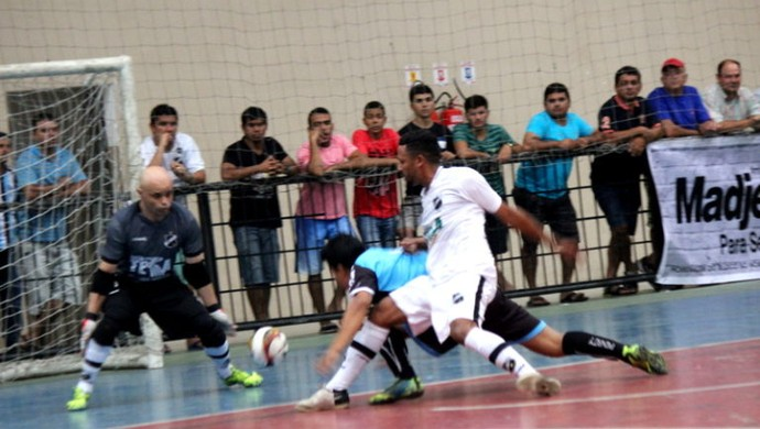 Bizinho - Goleiro de Futsal do ABC (Foto: Diego Simonetti/Blog do Major)