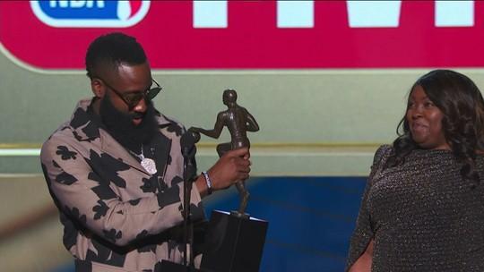 James Harden, do Houston Rockets, é eleito o MVP da temporada da NBA