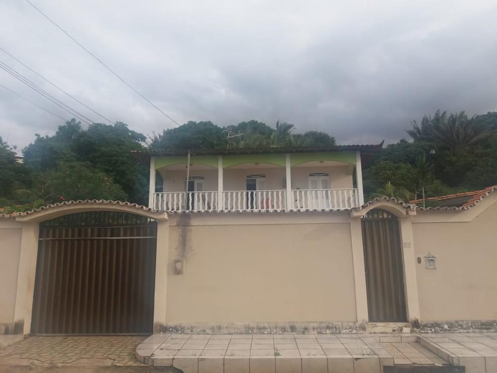 Casa onde a polícia encontrou venda de drogas no Olho d'Água, em São Luís — Foto: Alessandra Rodrigues/Radio Mirante AM