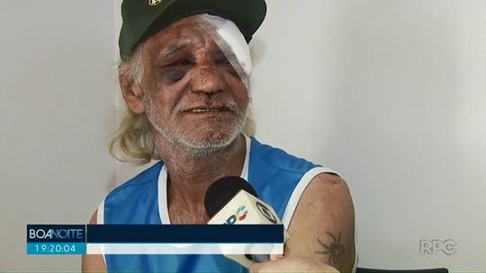 Polícia procura por terceiro suspeito de espancar e roubar idoso em Paiçandu