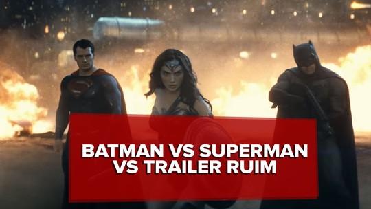 'Batman vs Superman': 2º trailer revela demais e atrapalha expectativa