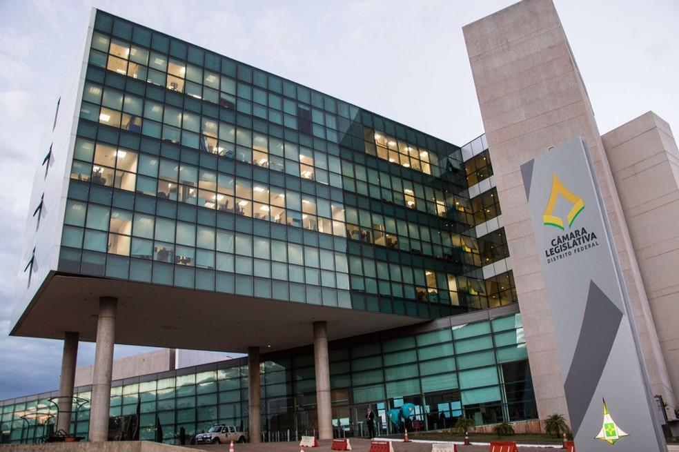 Câmara Legislativa do DF — Foto: Álvaro Costa/TV Globo