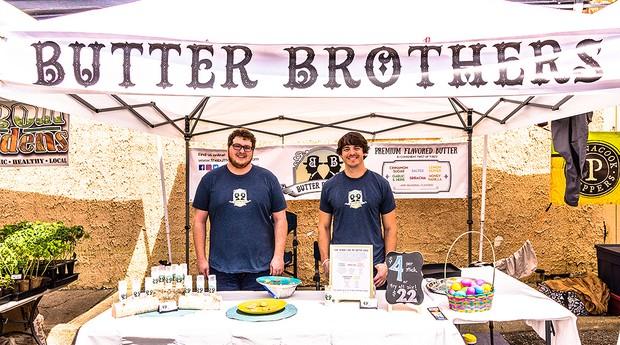 """Irmãos criadores da marca de manteigas """"Butter Brothers"""" (Foto: Reprodução)"""