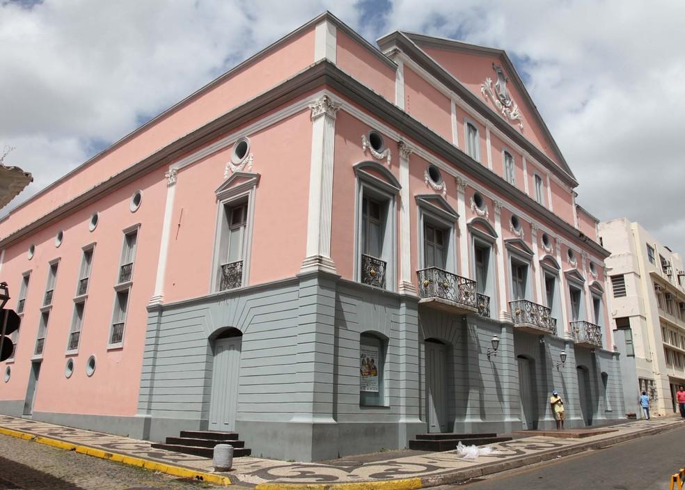 Abertura oficial do Festival de Teatro Lusófeno será realizada no Teatro Arthur Azevedo em São Luís. (Foto: Divulgação)