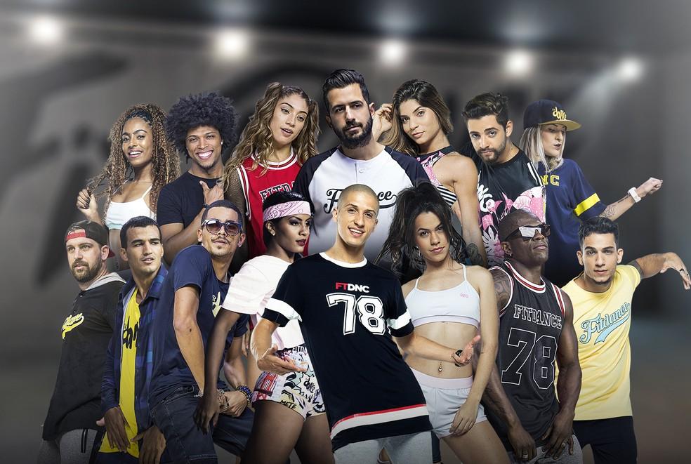 Aulão com o grupo FitDance na edição do SuperDance. (Foto: Divulgação)