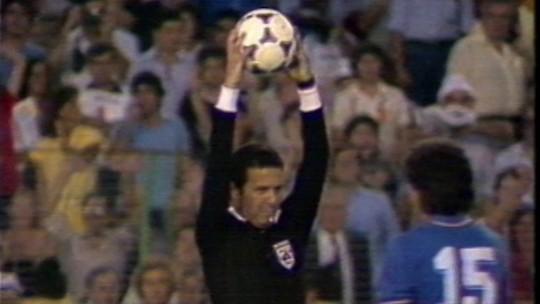Jogos para Sempre: Arnaldo representou o Brasil na final da Copa de 82