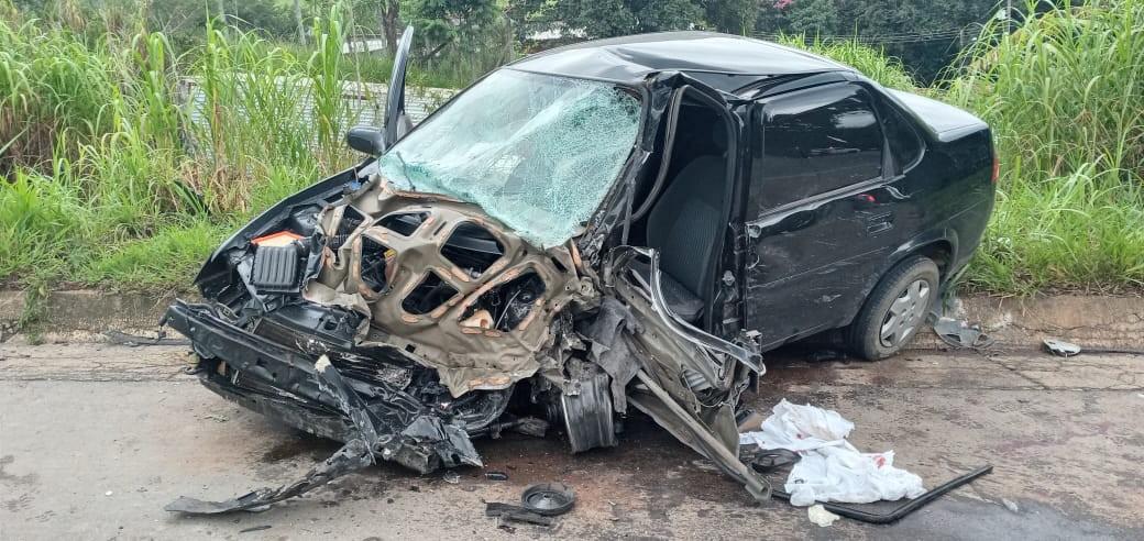 Motorista fica em estado grave após acidente em rodovia em Bragança Paulista