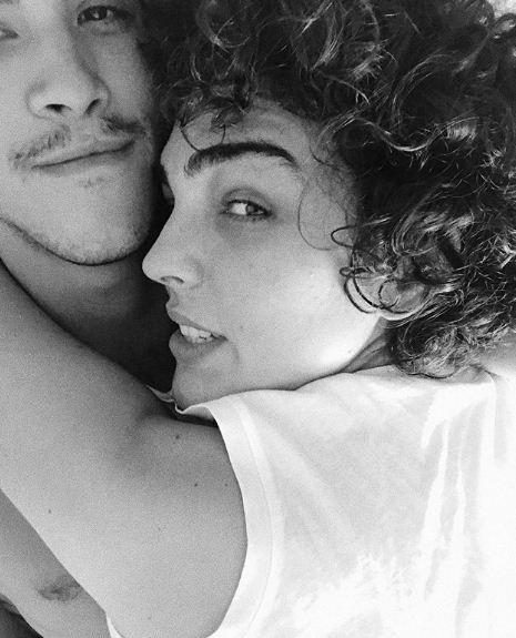 Julia e o namoado Pedro (Foto: Reprodução/Instagram)