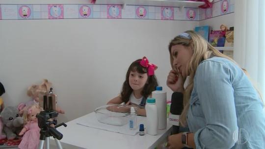 Com apenas 4 anos, Alanis Sawaya é uma youtuber mirim