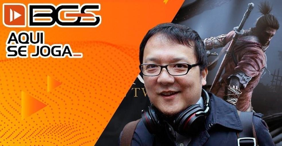 Produtor de Sekiro, Bloodborne e Darksouls, Hidetaka Miyazaki estará na BGS 2019 após pedidos dos fãs — Foto: Divulgação/Brasil Game Show