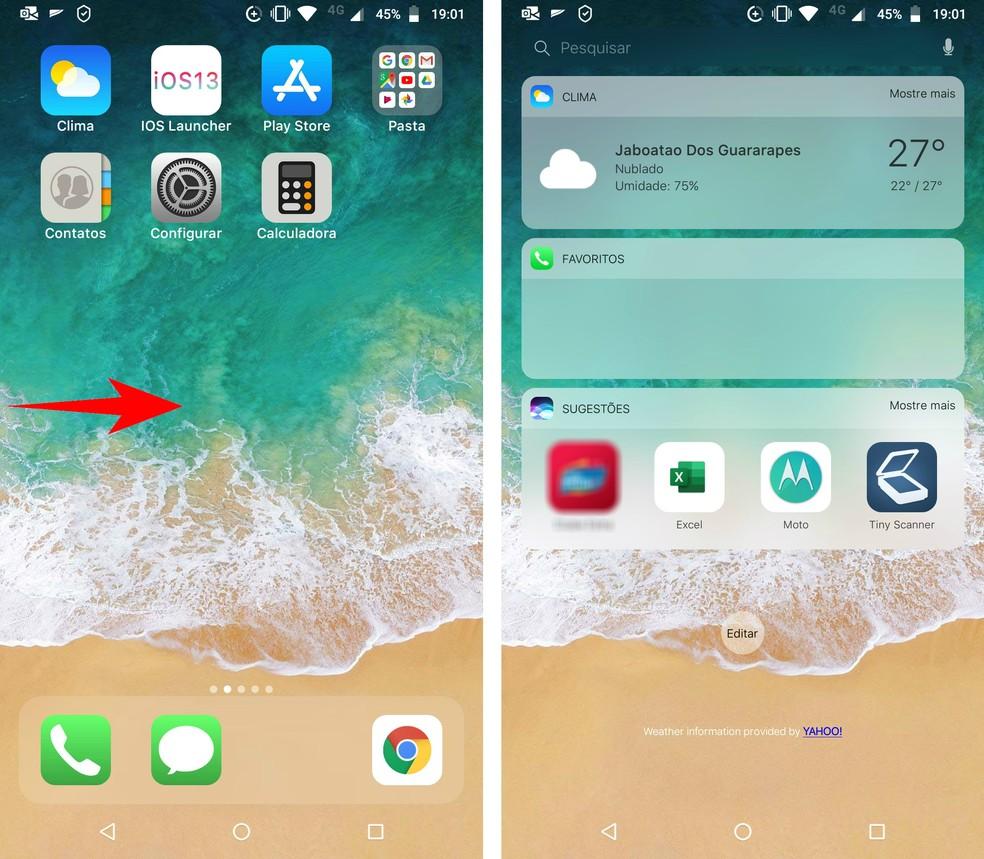 Como deixar o celular Android com aparência 'igual' ao iOS iPhone ...