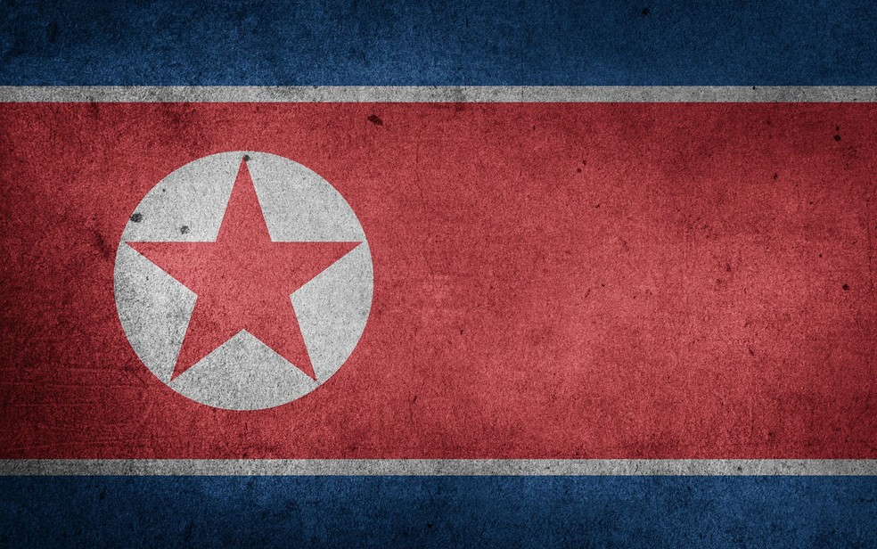 Bandeira da Coreia do Norte (Foto: Etereuti/Creative Commons)